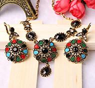 Z&X® Alloy Fashion Vintage Bohemian Jewelry Set Party/Casual 1set