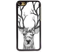Deer Design Aluminum High Quality Case for iPhone 5C