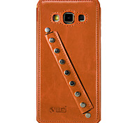 UWEI Oil Wax Skin Case Sports Section Style for Samsung Galaxy A5