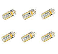 6 stuks G4 7 W 72 SMD 3014 650 LM Warm wit/Koel wit Maïslampen DC 12/AC 12/AC 24/DC 24 V