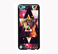 triangle design en aluminium cas de haute qualité pour iPod touch 5
