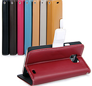 UWEI Cow Leather Wallet  Full Body Case With Stand for Samsung Galaxy S2