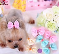 Cat / Dog Hair Accessories / Hair Bow Blue / Pink / Yellow Spring/Fall Wedding / Cosplay