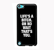 Life is a Beach Design Aluminum High Quality Case for iPod Touch 5