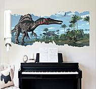 2015 New ZooYoo® 1459 Classic Movie Jurassic Park Dinosaurs Wall Sticker
