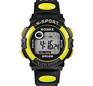fashion  men's   Waterproof   electronic    watch