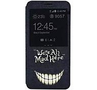 Zahnmuster PU-Leder-Tasche für Galaxy Note 5