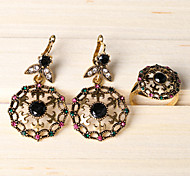 Z&X® Palace Hollow Out Alloy Jewelry Set Party/Casual 1set