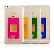Luxury Perfume Bottle liquid Crystal Clear Case Cover For iPhone 6 4.7 inch (Assorted Color)