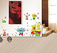 Mundo Animal pvc cor multifunções adesivos decorativos
