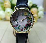 Women's Floral Watch,  Floral Pattern,Women's Watch,Analog,Students Flower Watch Wristwatch Cool Watches Unique Watches