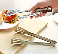 Stainless Steel Serving Tong Barbecue Grilling Grip Kitchen Utensils