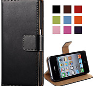 Elegant PU Leather Case for iPhone 4/4S (Assorted Colors)
