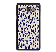 Pink Leopard Print Design Aluminum High Quality Case for Samsung Galaxy A3/A5/A7/A8