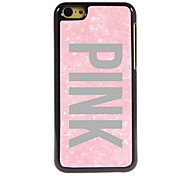 Pink Design Aluminum High Quality Case for iPhone 5C