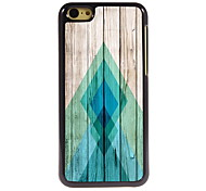 The Plank Design Aluminum High Quality Case for iPhone 5C