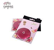 Miss herrlich kompakte Doppelseitenspiegel Kosmetikklappreise tragbaren Taschenspiegel Make-up-rote Hochzeitsfestgeschenk