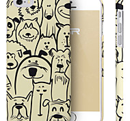 ESR® Illustrators Series Cute Cartoon Dog Doggies Alumni Hard Back Cover for iPhone 6 (Doggies Alumni)