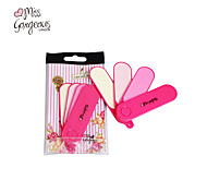MISS GORGEOUS 3IN1 Fan Design Nail File Buffer Sanding Files Nail Art Cutter Manicure Finger Remover Tools Set