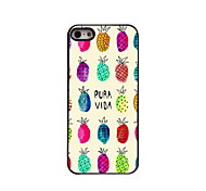 Lovely Pineapple Design Aluminum High Quality Case for iPhone 5/5S