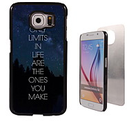 The Only Limits Design Aluminum High Quality Case for Samsung Galaxy S6 Edge G925F