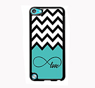 Love and The Wave Design Aluminum High Quality Case for iPod Touch 5