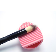 Silicone Handy Makeup Brushes Cleaning Tool Brush Egg Makeup Brush Cleaner Finger Silicone Glove Cosmetic Cleaning Tool