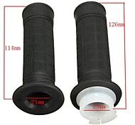 22MM Handlebar Rubber Hand Grips For ATV SUV Quad Dirt Pit Bike
