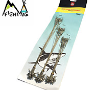 60Pcs Fishing Lure Trace Wire Leader Swivel Lead Rope Line Fishing Lures/Anti-bite Fishing Tackle MF0640