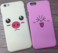 New Cute Little Piggy Back After PC Cases for iPhone 6 Plus/iPhone 6S Plus(Assorted Colors)