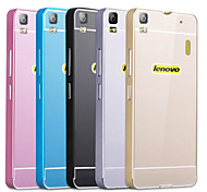 Premium Aluminum Metal Frame Acrylic Back Cover Set Case For Lenovo K3 Note (Assorted Colors)