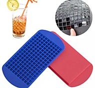 160 Ice Cubes Cube Bar Pudding Silicone Tray Mould Mold Tool (Random Color)