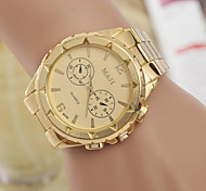 Men's  Watch Quartz Swiss Alloy Fashion Three Gold Watch