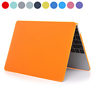 "ASLING Solid Color PC Hard Case with Crystal for MacBook 12""(Assorted Colors)"