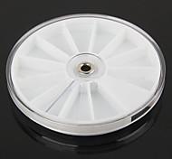 8cm um grande jóias de diamantes caixa de manicure disco de diamante rodada pratos toolbox Dappen