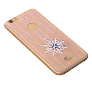 Snow Flower Diamond iPhone6Plus Case Graphene Cooling Phone Sticker for iPhone6Plus Protect Pregnant from Radiation