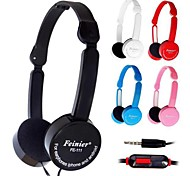 Outdoor Sport Headphones Headset with In line Mic & Volume Control Ear Noise Cancelling Cute Earphones