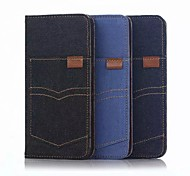 "Pocket Cowboy 3 Card Slots+Frame Leather Pouch Case for Iphone 6 6s 4.7"" Cover Case"