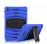 antichoc robuste armure hybride mince couverture de cas pc + cas de silicium pour Mini iPad 3/2/1 (de couleurs assorties)