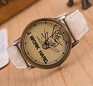 Newest Jeans Strap Style Fahsion Casual Wristwatches Cowboy Brand New Watch For Men And Ladies Quartz Clock1