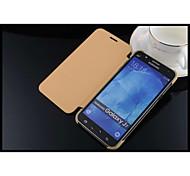 cuero y PC teléfono móvil caja del teléfono móvil shell proetction caso para la galaxia j7