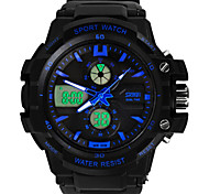 Men's Watches Double Display Outdoor Climbing Multifunctional Waterproof Diving Watch