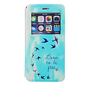 Asuka Pattern Window Bracket Section Full Package Phone Case for iPhone 6S