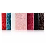 Crocodile PU Leather Folio Stand Case Cover For Apple iPad mini 4 (Assorted Color)