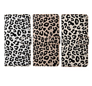 iPhone 7 Plus 5.5 Inch Leopard Print Pattern PU Wallet Leather Case for iPhone 6s 6 Plus SE 5s 5c 5