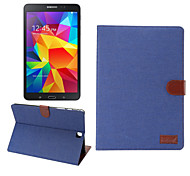 DE JI Cowboy Pattern Smart PU Leather Cover Stand Case For Samsung Galaxy Tab A  T550 9.7/Tab S2  9.7/Tab S T800 10.5