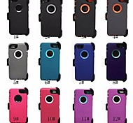 Heavy Duty Hybrid Defender Outer Series Cover Case w/Clip For iphone 6 plus