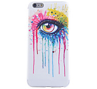 Color Tears Pattern TPU Cell Phone Soft Shell For iPhone 6
