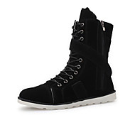 Men's Shoes Outdoor / Office & Career / Casual Boots Black / Blue / Beige