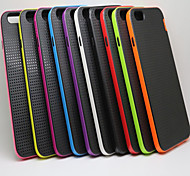 Drop Following Breathable Protection shell PC+Silicon Mobile phone for iPhone6 Assorted Color
